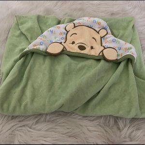 Disney Winnie The Pooh Towel & Washcloth Set